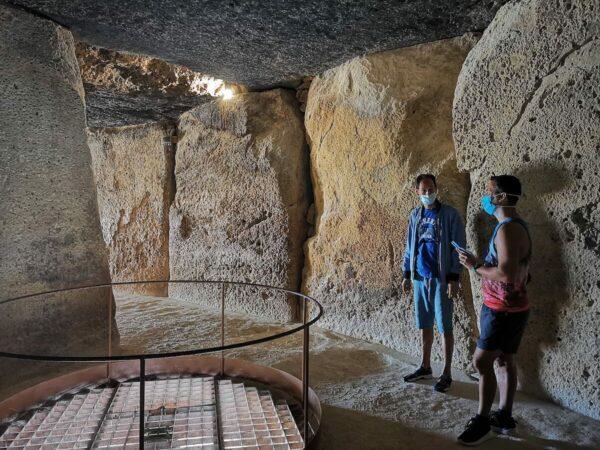 visita al dolmen de antequera